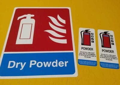 Dry Powder Signs