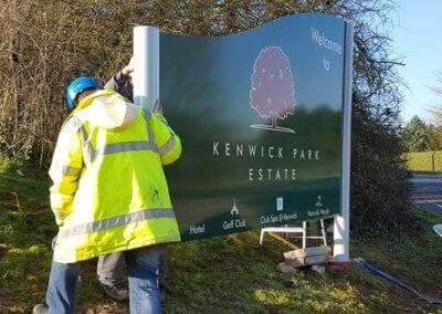 External Signage Installation