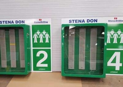 safety equipment signage hi-lite signs