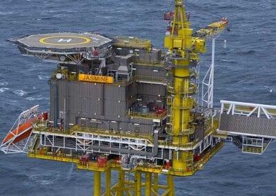 offshore oil platform signage hi-lite signs
